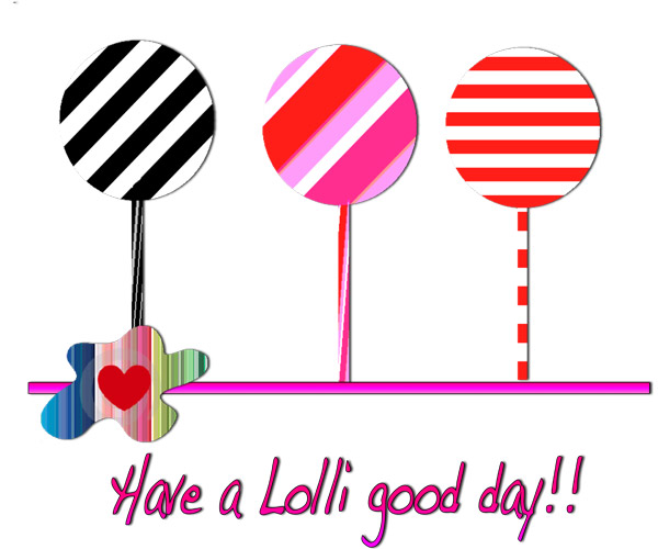 Lolli good day door rocksdesign